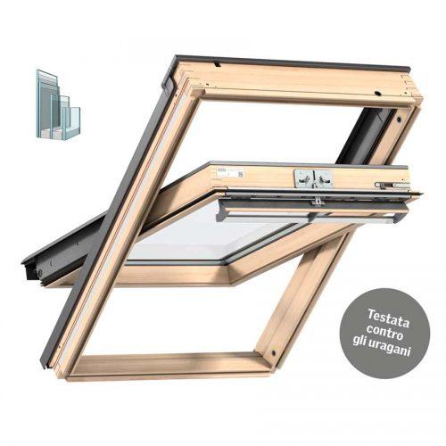 Finestra VELUX Tripla Protezione in legno naturale