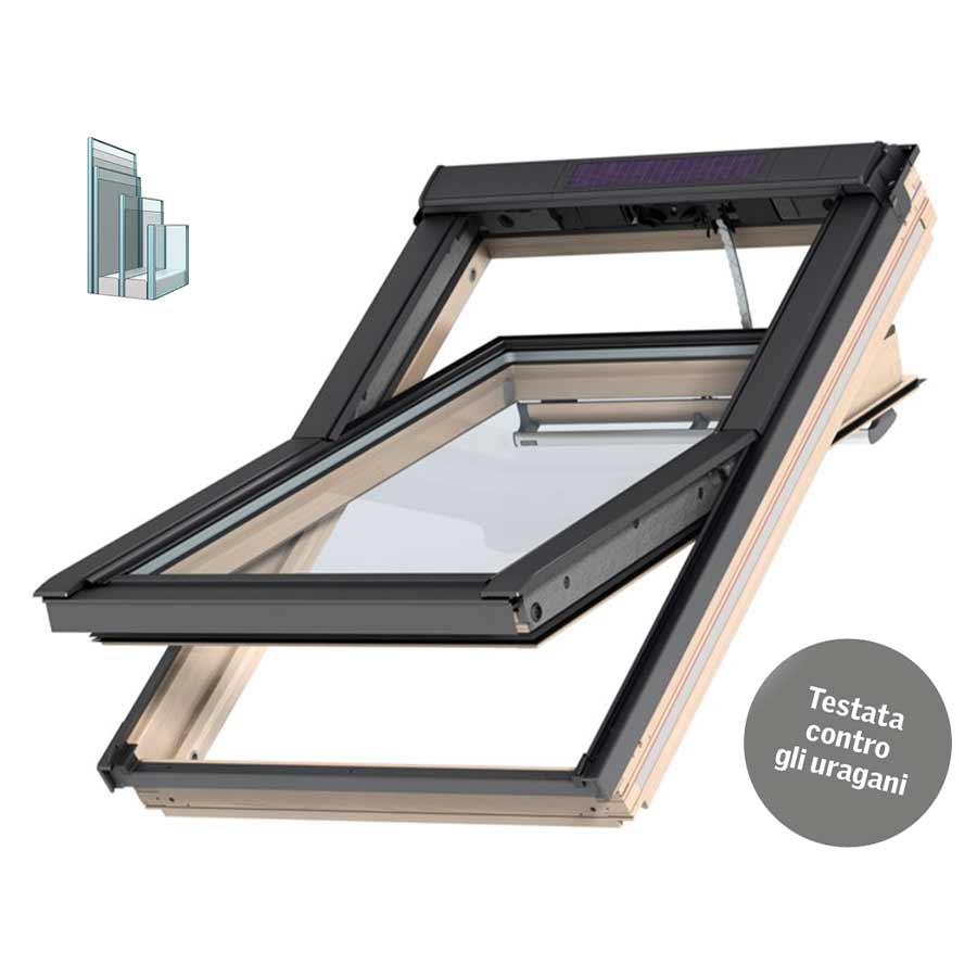 Finestra Solare Tripla Protezione